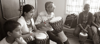 Children, Drum Your Heart Out!