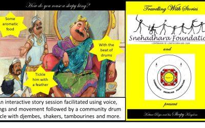 """Travelling with Stories – """"Kottavi Raja and his Sleepy Kingdom"""""""