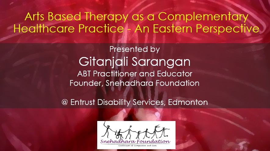 Snehadhara Foundation at Entrust Disability Services in Edmonton, Canada on 14th November 2017