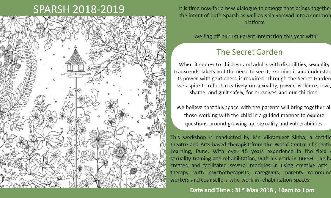The Secret Garden on 31st May 2018