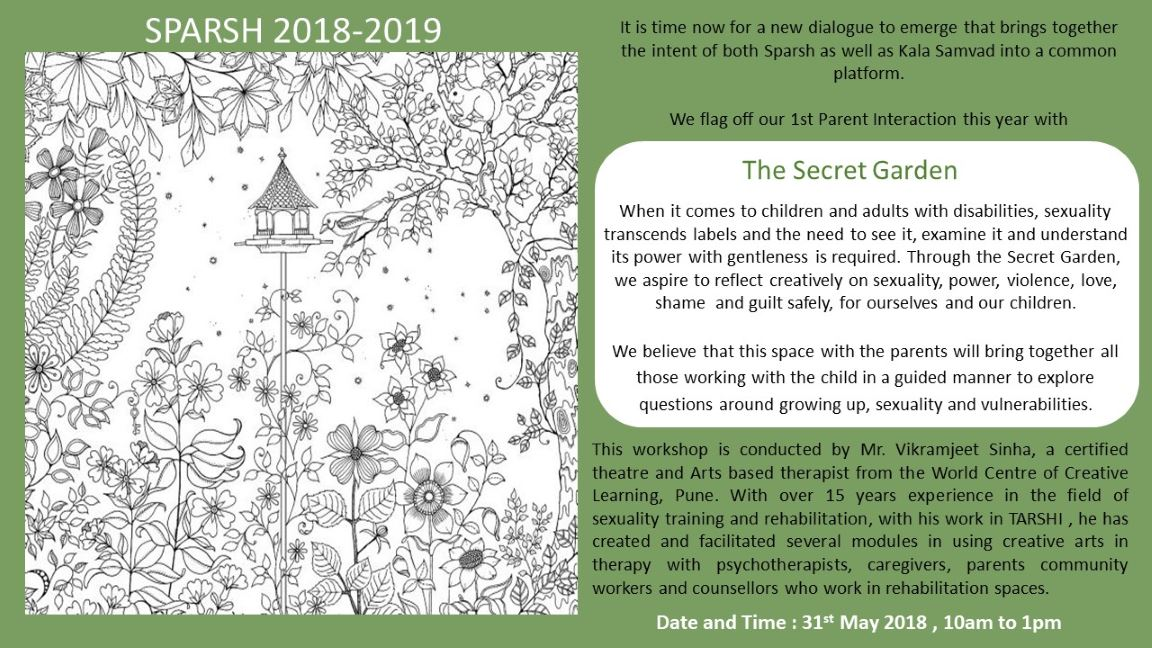 The Secret Garden on 31st May 2018