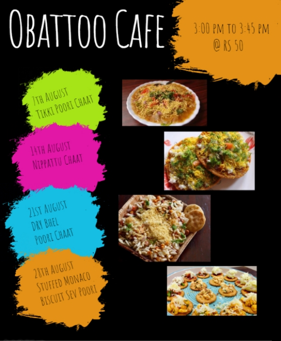 Obattoo Cafe: August Flavours