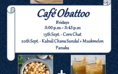 Cafe Obattoo – Sep 2019