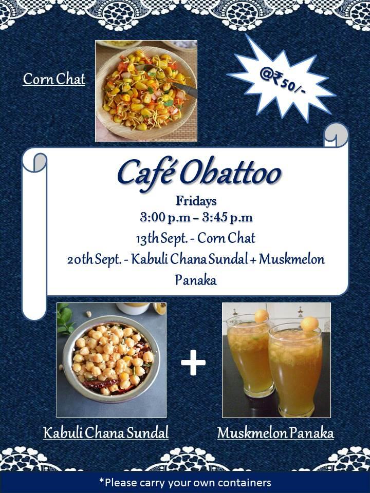 Cafe Obattoo – Sep 2019