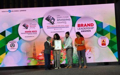 Snehadhara awarded the NGO Leadership Award (2019)