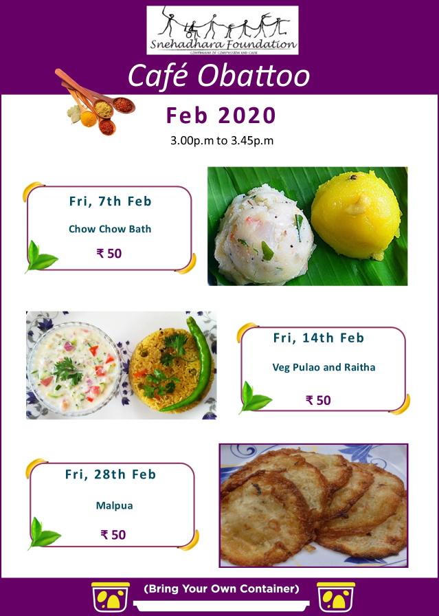 Cafe Obattoo – Feb 2020