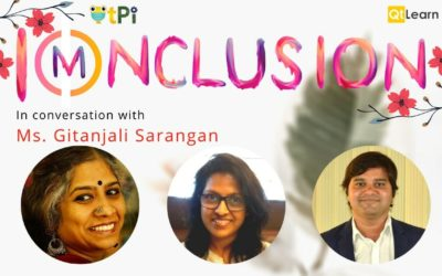 I(m)nclusion | In conversation with Ms. Gitanjali Sarangan